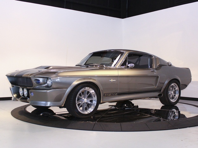 1967 Ford Shelby Gt500e Supersnake Eleanor Muscle Cars