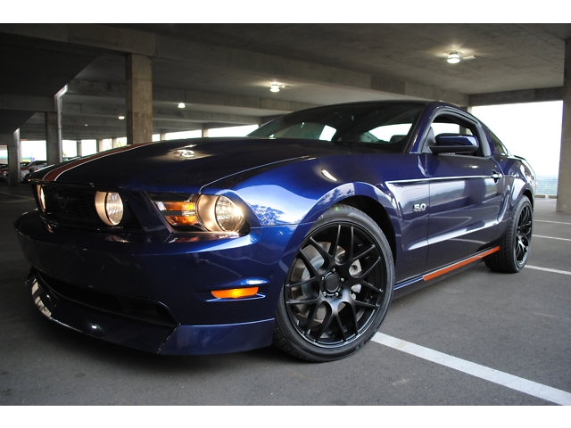 2011 ford mustang gt 5 0 auburn edition custom muscle. Black Bedroom Furniture Sets. Home Design Ideas