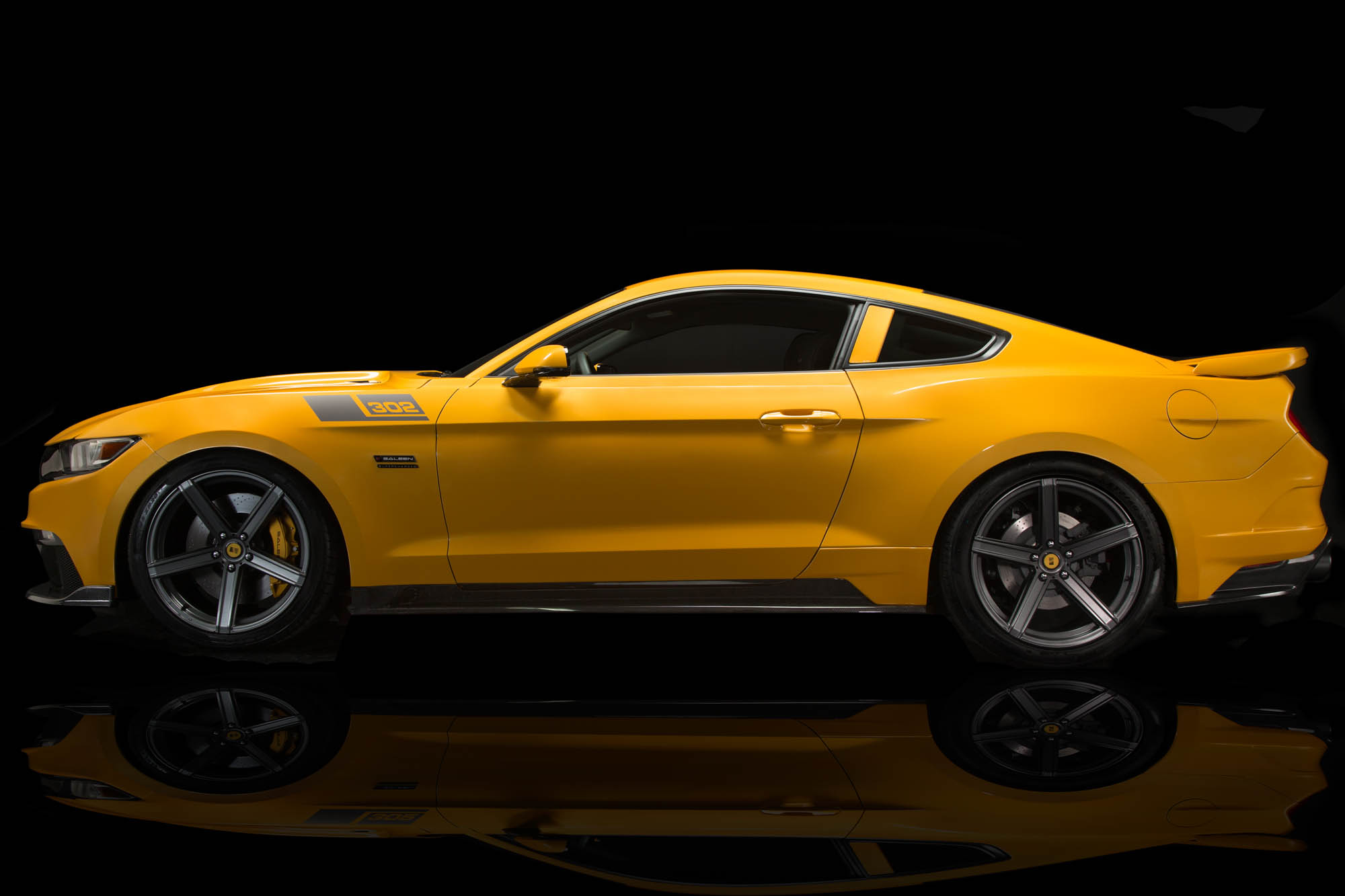 2016 Saleen Mustang >> 2015 Saleen Ford Mustang S302 Black Label - Muscle Cars News and Pictures